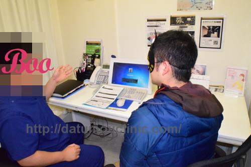 ゴリラクリニックのドクターの診察